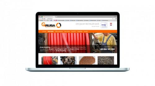 Strona internetowa Gruba Recykling w nowej odsłonie