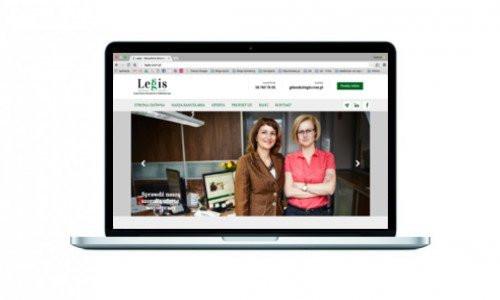 Nowa strona www dla gdańskiej spółki Legis