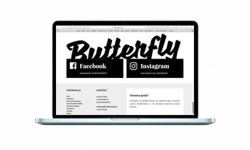 Butterfly Butik z nowym sklepem internetowym