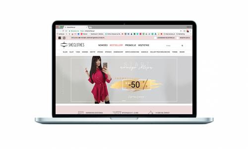 Nowy sklep internetowy dla sheclothes.pl