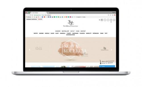 Sklep internetowy dla polskiego producenta TMC MODA