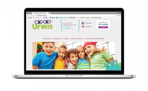 Nowa strona internetowa dla Przedszkola Urwis
