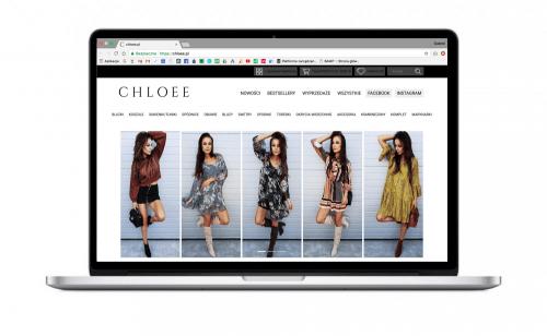 Sklep internetowy dla butiku Chloee