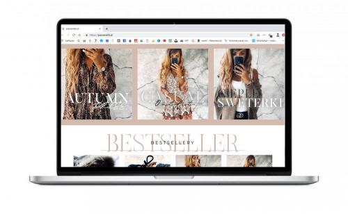 Sklep internetowy dla krakowskiego butiku Passerella