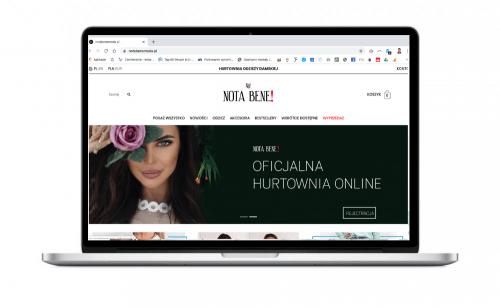 Hurtownia odzieżowa notabenemoda.pl