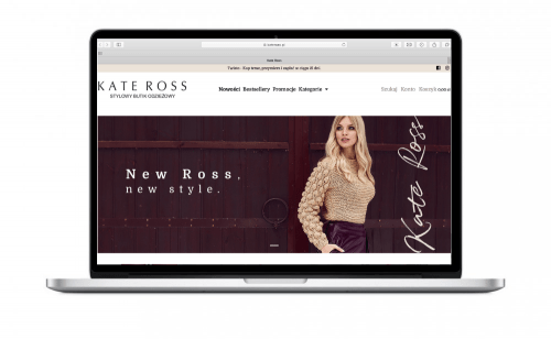 Butik online dla marki Kateross.pl