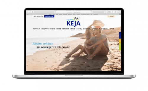 Strona internetowa dla Keja Chłapowo