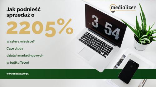 Jak podnieść sprzedaż o 2205% w cztery miesiące? Case study działań marketingowych w butiku Tesori