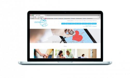 Nowa strona internetowa dla NZOZ Antares