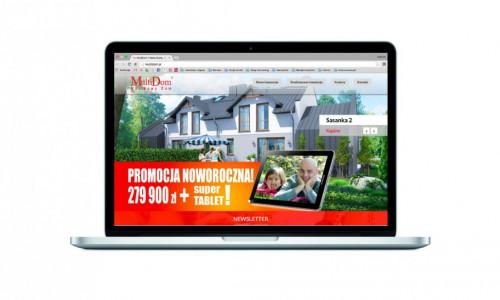 Nowa internetowa strona dla dewelopera Multidom