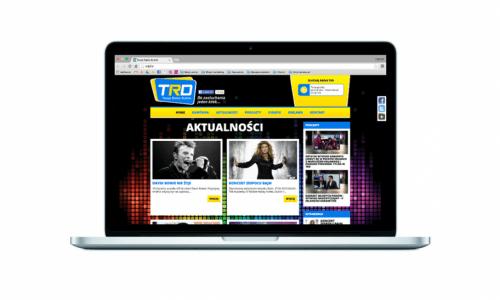 Strona internetowa dla Twoja Radio Dublin