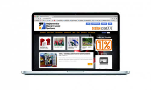 Nowa strona www dla Wejherowskiego Stowarzyszenia Sportowego