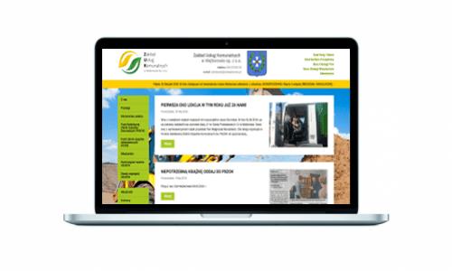 Nowa strona internetowa dla Zakładu Usług Komunalnych w Wejherowie