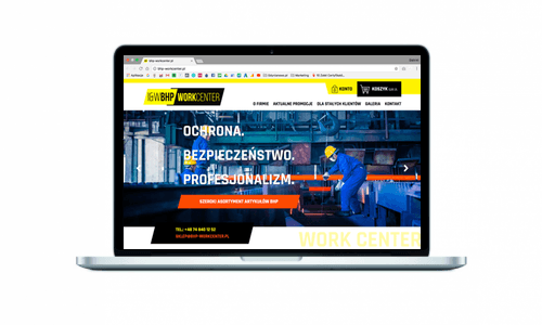 Nowoczesny sklep internetowy dla branży BHP