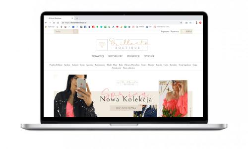 Nowy butik online dla brillanteboutique.pl