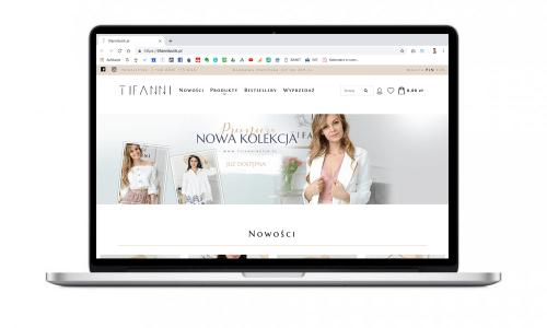 Butik online z odzieżą damska dla Tifanni Butik