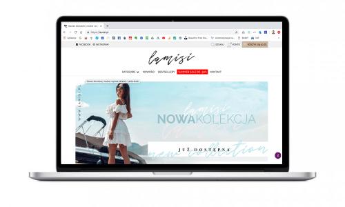 Sklep internetowy dla marki Lamisi