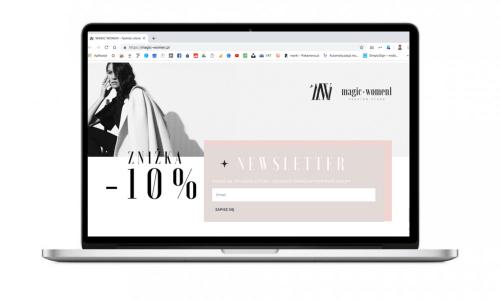 Nowy sklep internetowy dla butiku Magic Women