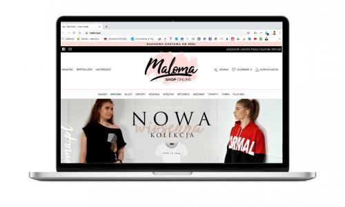 Maloma.pl - sklep internetowy z odzieżą kobiecą