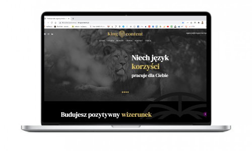 KingContent – nowa strona internetowa dla siostrzanej agencji Medializera