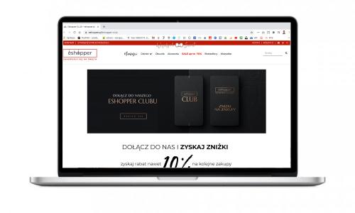 Eshopper Club – nowoczesny program rabatowy dla butiku internetowego