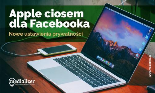 Nowe ustawienia prywatności Apple ciosem dla Facebooka