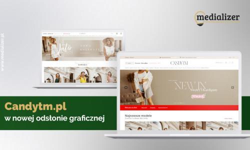 Candytm.pl w nowej odsłonie graficznej